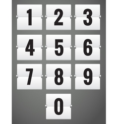 Set numbers vector