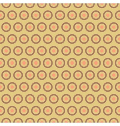 Tea abstract seamless pattern tiling with swatch vector
