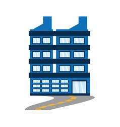 building corporate road design vector image vector image