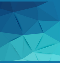 abstract blue graphic art vector image vector image