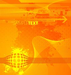 modern high tech background vector image vector image