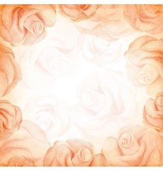 Abstract romantic background in beige colors vector image vector image