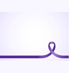 Awareness ribbon background vector