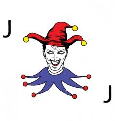 joker vector image vector image