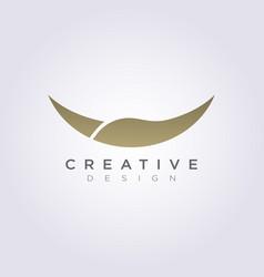 Animal horn design clipart symbol logo template vector