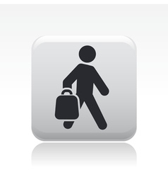 buy bag icon vector image