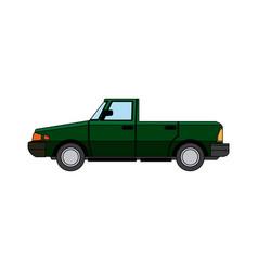 car sport convertible vehicle transport vector image