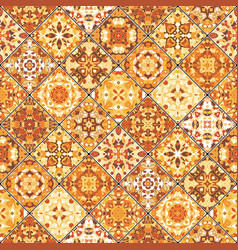 Collection of orange abstract patterns vector