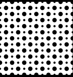 geometric pattern seamless mosaic dots circles vector image
