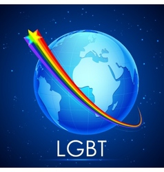 LGBT Awarness Concept vector