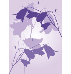 Lilac background vector