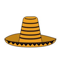 Mexican hat vector