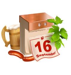 september 16 2017 oktoberfest beer festival vector image