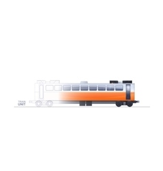 Train Technical vector image