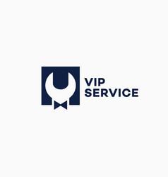 Vip service logo vector