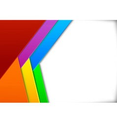 Colorful card with blank space - vector image