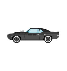 classic muscle car isolated vector image