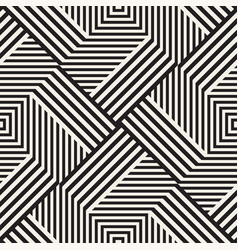 Abstract geometric pattern with stripes lines vector