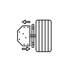 Car parts icon can be used for web logo mobile vector