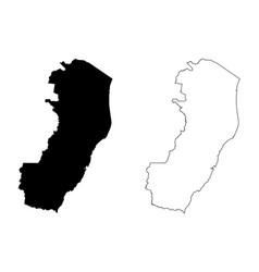 Espirito santo map vector