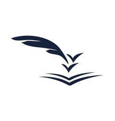 Journalist logo design template vector