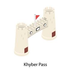 Khyber pass vector