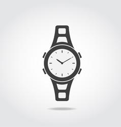 Watch Black Icon vector