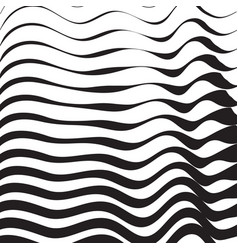 halftone pattern background striped waves lines vector image vector image