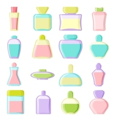 Blank package icons vector image