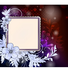 frame for photo vector image vector image