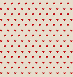 valentines day card hearts vector image