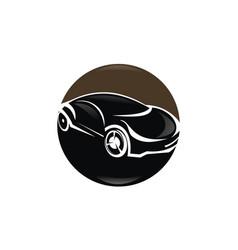 Car modern logo design template vector