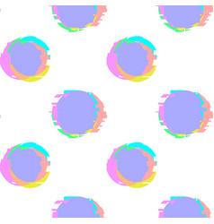 Glitch noise distortion seamless pattern vector
