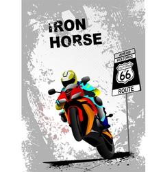 Iron horse 005 vector