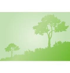 Landscape background vector