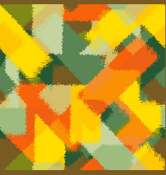 seamless chaotic pattern autumn camouflage vector image
