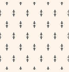 subtle minimalist seamless pattern luxury vintage vector image