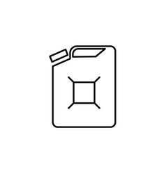 Tank gas icon can be used for web logo mobile app vector