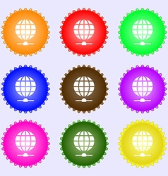 Website Icon sign Big set of colorful diverse vector