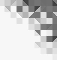 Light grey geometric background vector image