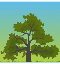 tree cartoon vector image