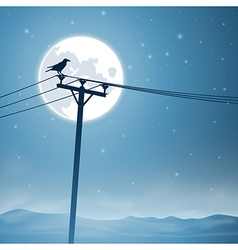 Telephone Lines vector image vector image