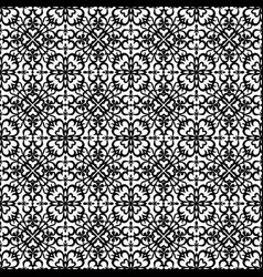 Black abstract pattern vector