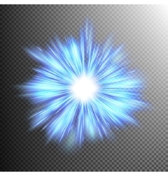 Beautiful rays of light burst EPS 10 vector