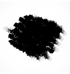 brush strokes paint ink grunge dirty vector image