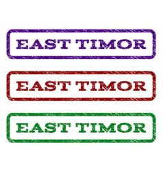 East timor watermark stamp vector