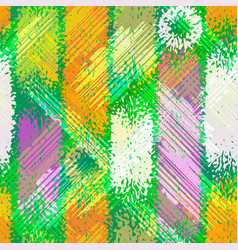 grunge seamless chaotic pattern colorful texture vector image