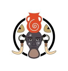 Mursi-tribe-sign vector