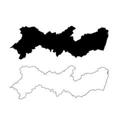 Pernambuco map vector