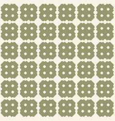 retro vintage seamless pattern green texture vector image